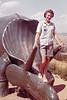 1960 Mary Ann and Dinosaur Rapid City July
