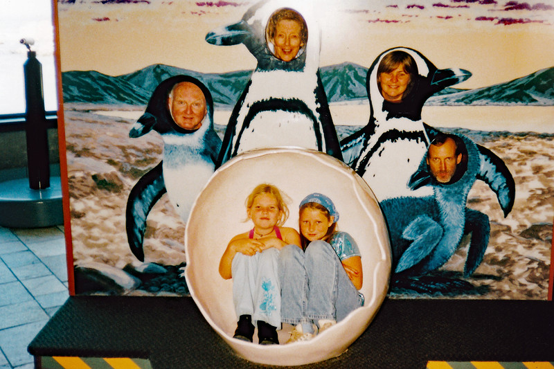 2002 50th Wedding Anniv Monterey Bay Aquarium