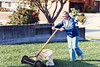 1984 Mary Ann Mowing Lawn