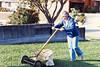 1984 Mary Ann Mowing Lawn