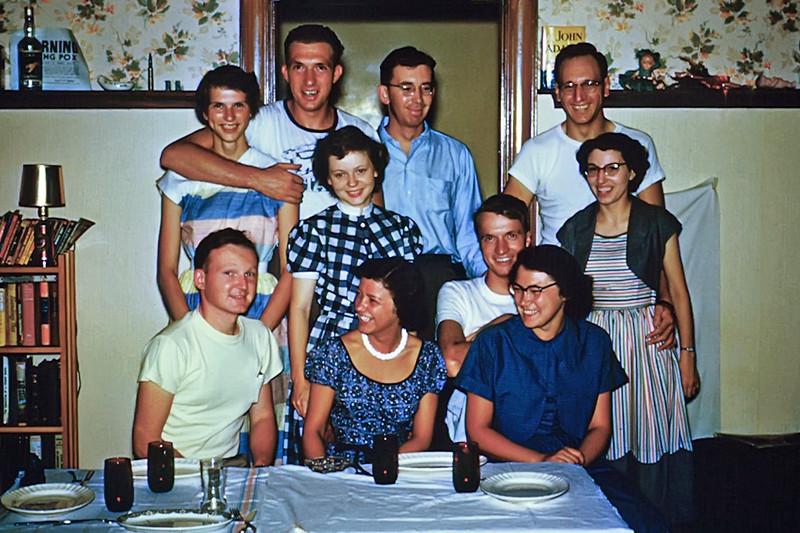 1950s Mary Ann - Jim - Friends