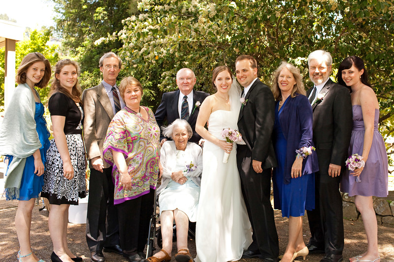 2010 Morrison Family at James-Lis Wedding