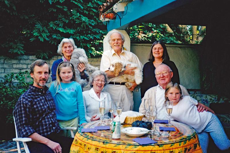 2000 Nov Thanksgiving at Bob & Priscilla's