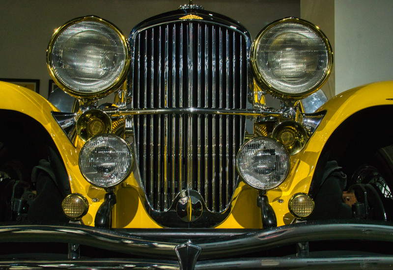 Duesenberg from The Great Gatsby, on display at the Petersen Automotive Museum
