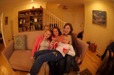 Kelsey, Christina, Rose, & Lilly