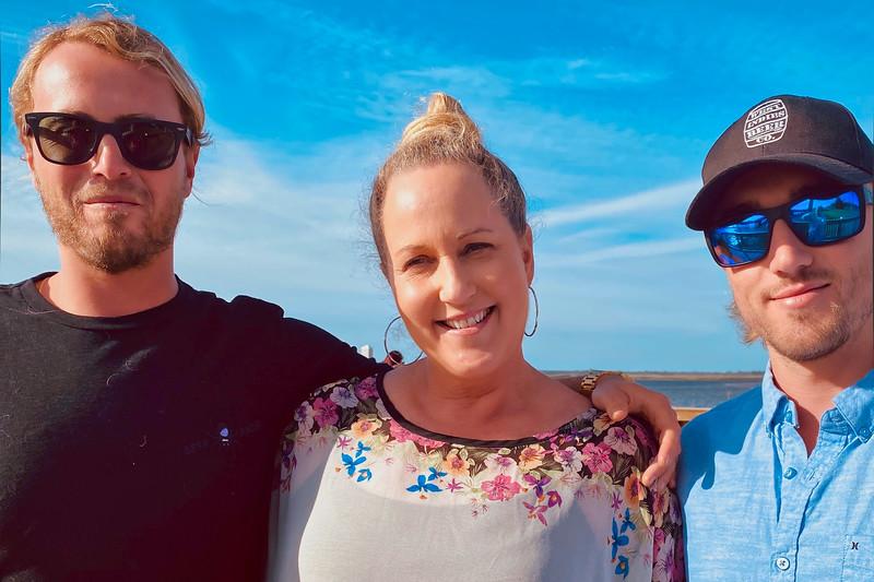 Josh, Teresa, and Alex