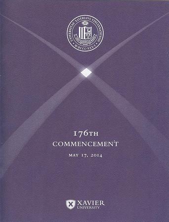 Terri Graduates from Xavier University May 17, 2014