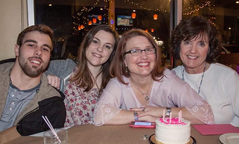 Brady, Claire, Erin & Janie