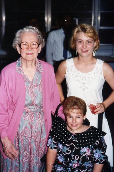 Mom, Jill & Erin