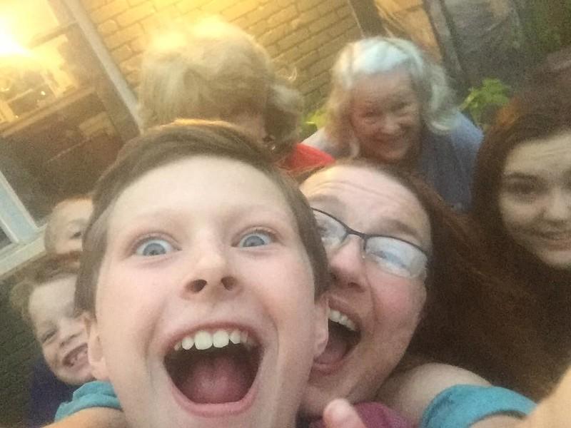 Noah, Patrick, Claire & Erin