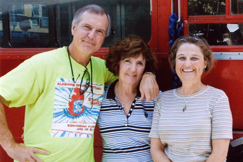 Terry, Janie and Janet - London: 2010