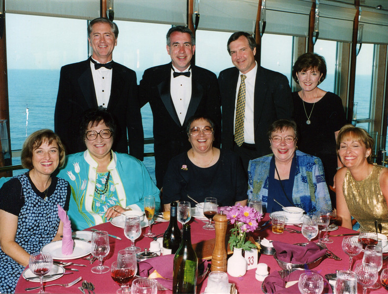 The Cruise To Fifty, with Dinner Pals: 2001