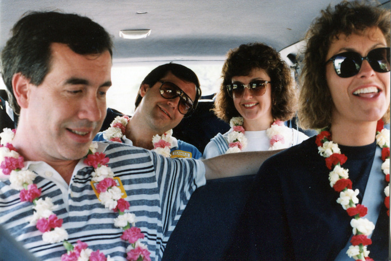 Dave, Jody, Terry and Janie - Hawaii: 1991