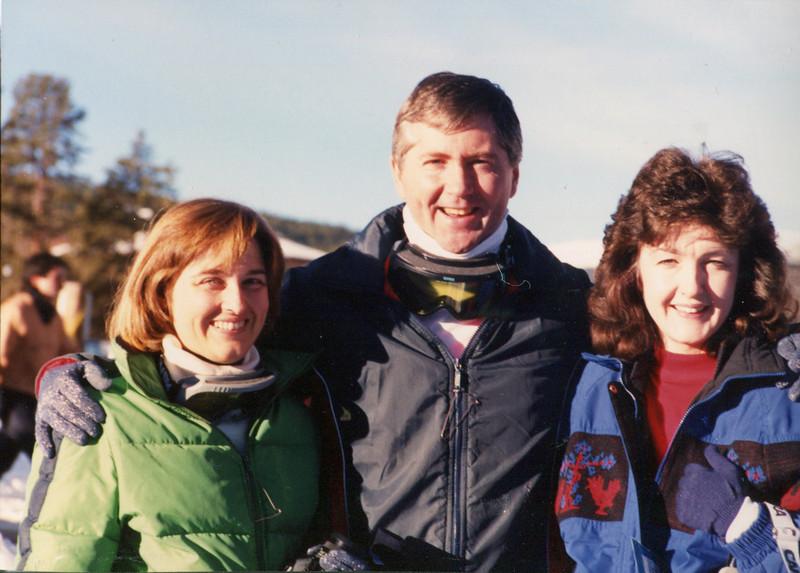 Janet, Doug and Janie - January 1990