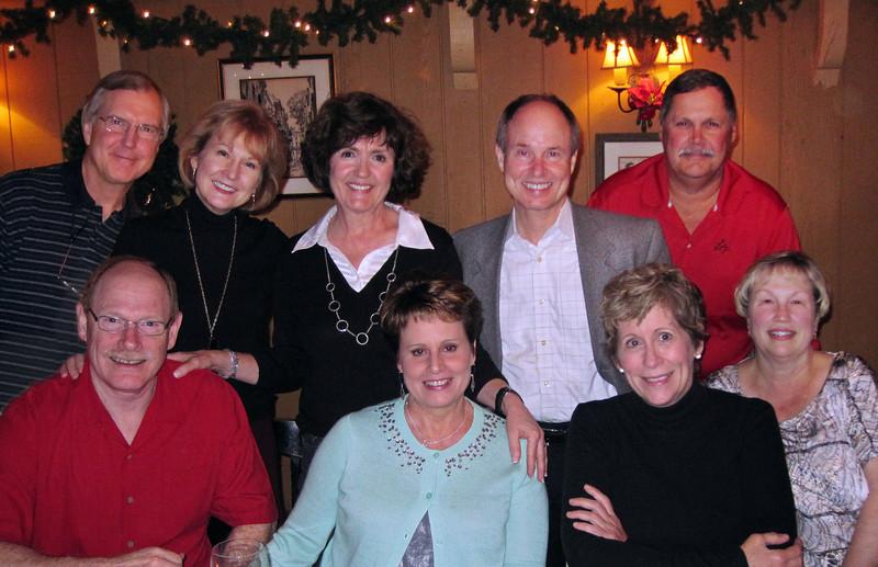Terry, Larry, Elizabeth, Janie, Lisa, Bobby, Becky, Ken, Melinda<br /> December 2012