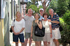 Charleston, South Carolina - 2011<br /> From Left: Jody Hand, Dave Hand, Janet Springfield, Doug Springfield, Janie Yarbrough, Terry Yarbrough