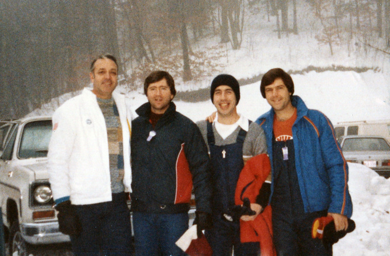 From left: Bob Sturdivant, Doug Springfield, Dave Hand and Terry Yarbrough - 1984