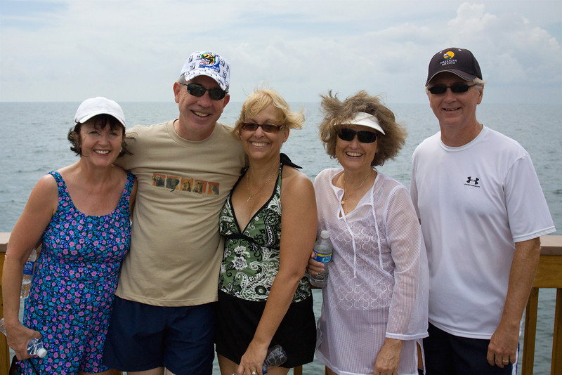 From Left: Janie, Dave, Jody, Janet and Doug - September, 2009