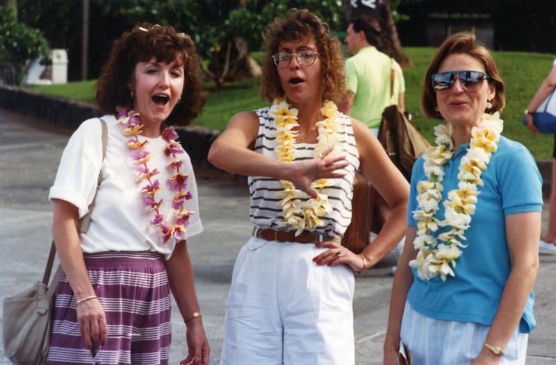 Janie, Jody and Janet - Hawaii: 1991