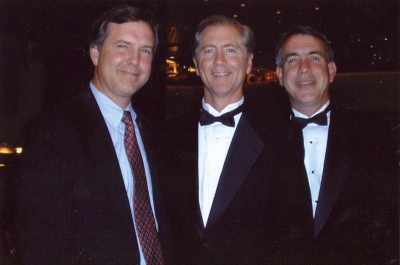 Terry, Doug and Dave - Cruise to Fifty: 2001