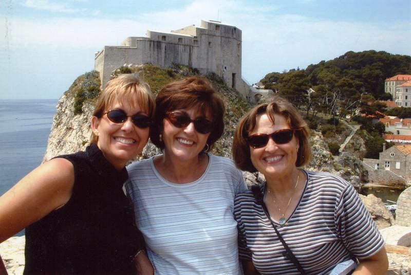 Jody, Janet and Janie - Dubrovnik: 2001