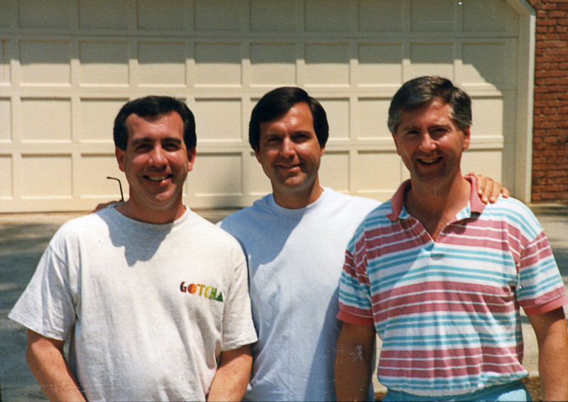 Dave, Terry and Doug - July 1990