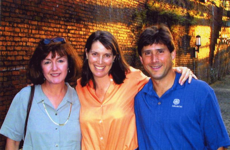 Janie, Suzie, Scott - Savannah, GA: 2001