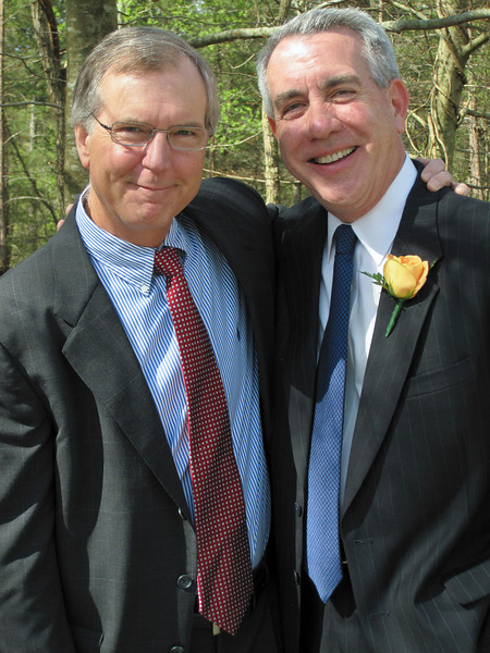 Terry and Dave - April, 2010