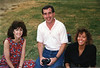 Janie, Dave and Jody - October, 1990