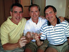 Dave Hand, Doug Springfield and Terry Yarbrough<br /> Western Mediterranean Cruise - 2001