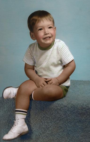 John Grice<br /> September, 1967<br /> Age 2