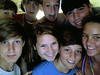 Seth, Jared Stewart, Katelyn Smith, Benjie, Nolen Burke and Laura Harwell<br /> July 2010