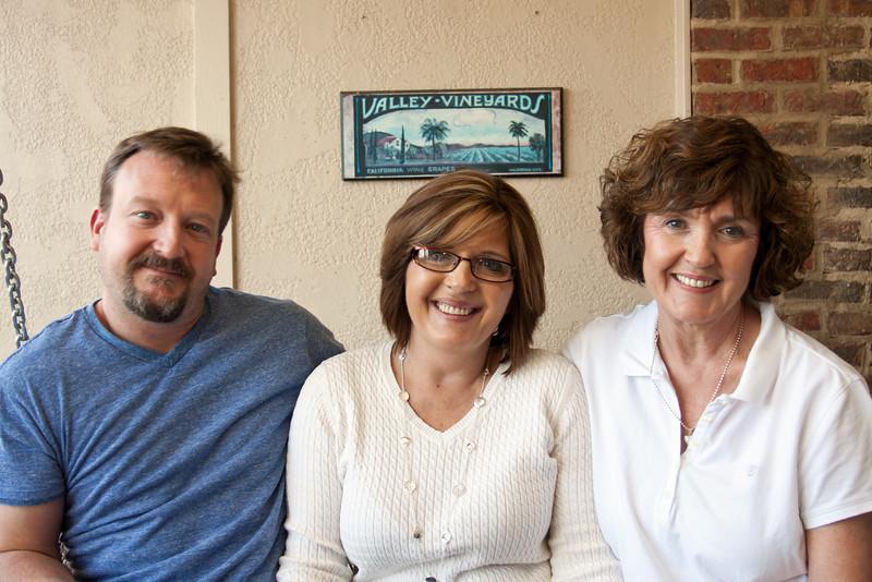 Nelson, Pam & Janie - December 2011