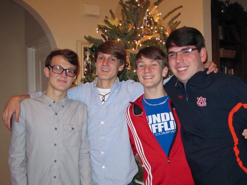 The Grice Boys<br /> Christmas 2011