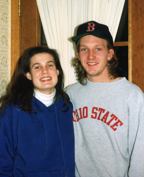 Nelson and Ann - February, 1991