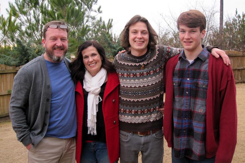 Nelson, Ann, Jonah & Benjie