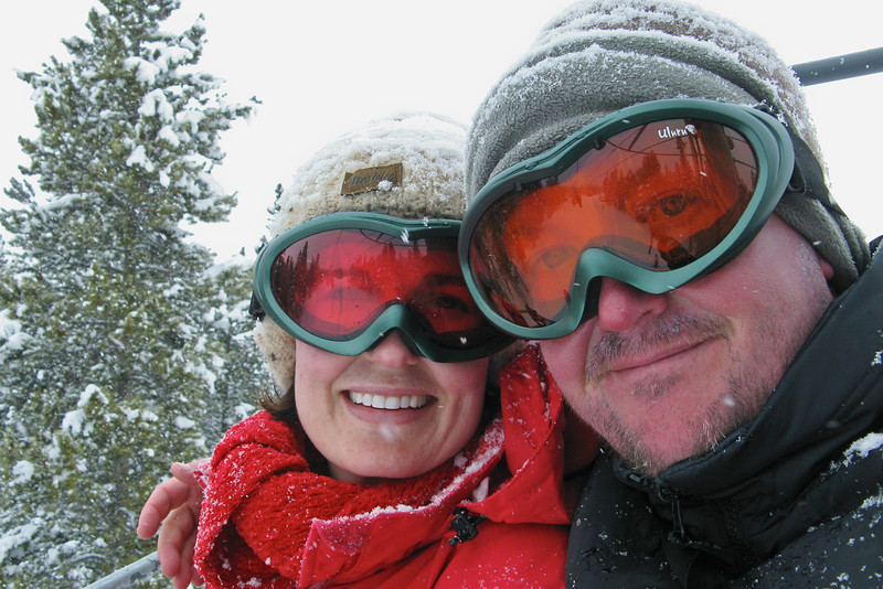 Nelson and Ann - Breckenridge: March, 2008