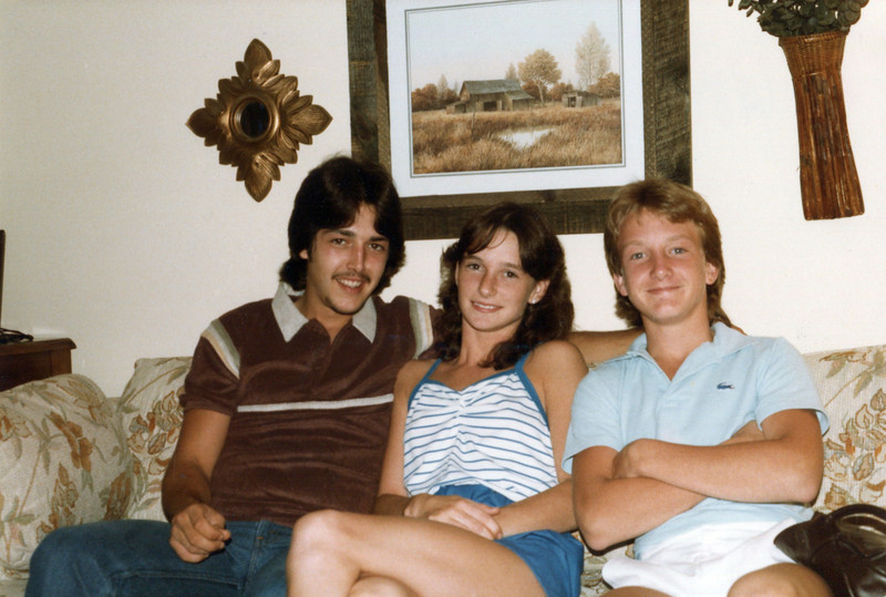 Johnny, Tammy and Nelson - June, 1984