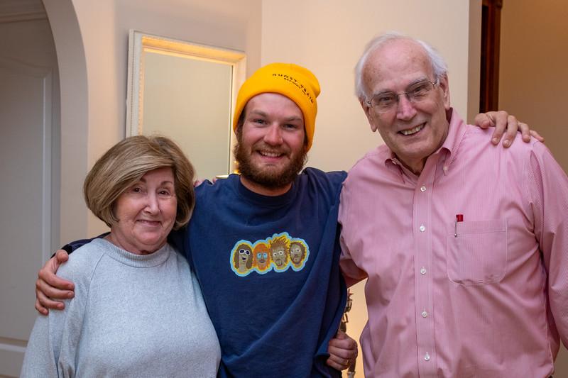 Martha, Benjie & Tom