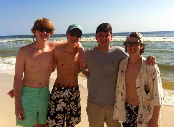 Matt, Seth, Joseph & Benjie<br /> 2013