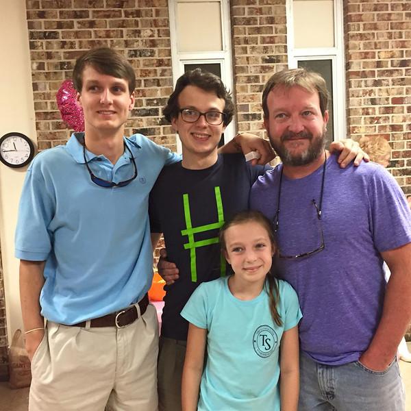 Seth, Jonah, Nelson & JC