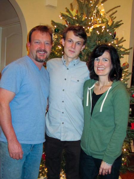 Nelson, Jonah and Ann<br /> Christmas 2011