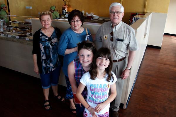 Terry & Linda with Brooke & Breya