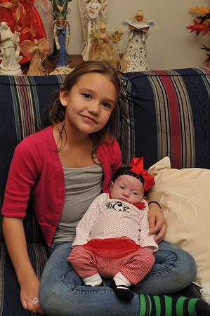 Caitlin and Brooklyn; 2012