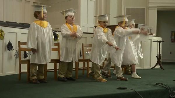 Clate Cannon Kindergarten Graduation