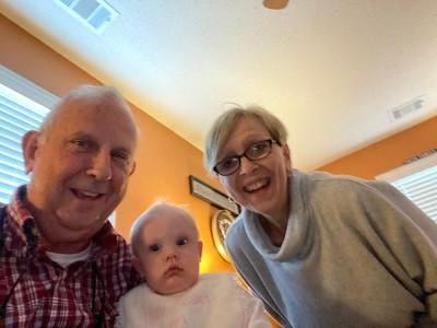 Mike, Carol and Harper Kate