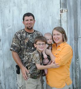 Trey, Tara, Clate & Bo