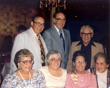 Tommy, Maurice, George, Terry, Alice, Irene & Lauretta