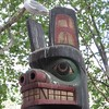 Quizical Totem and Seagull, Seattle