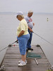Mom & Dad fishing.
